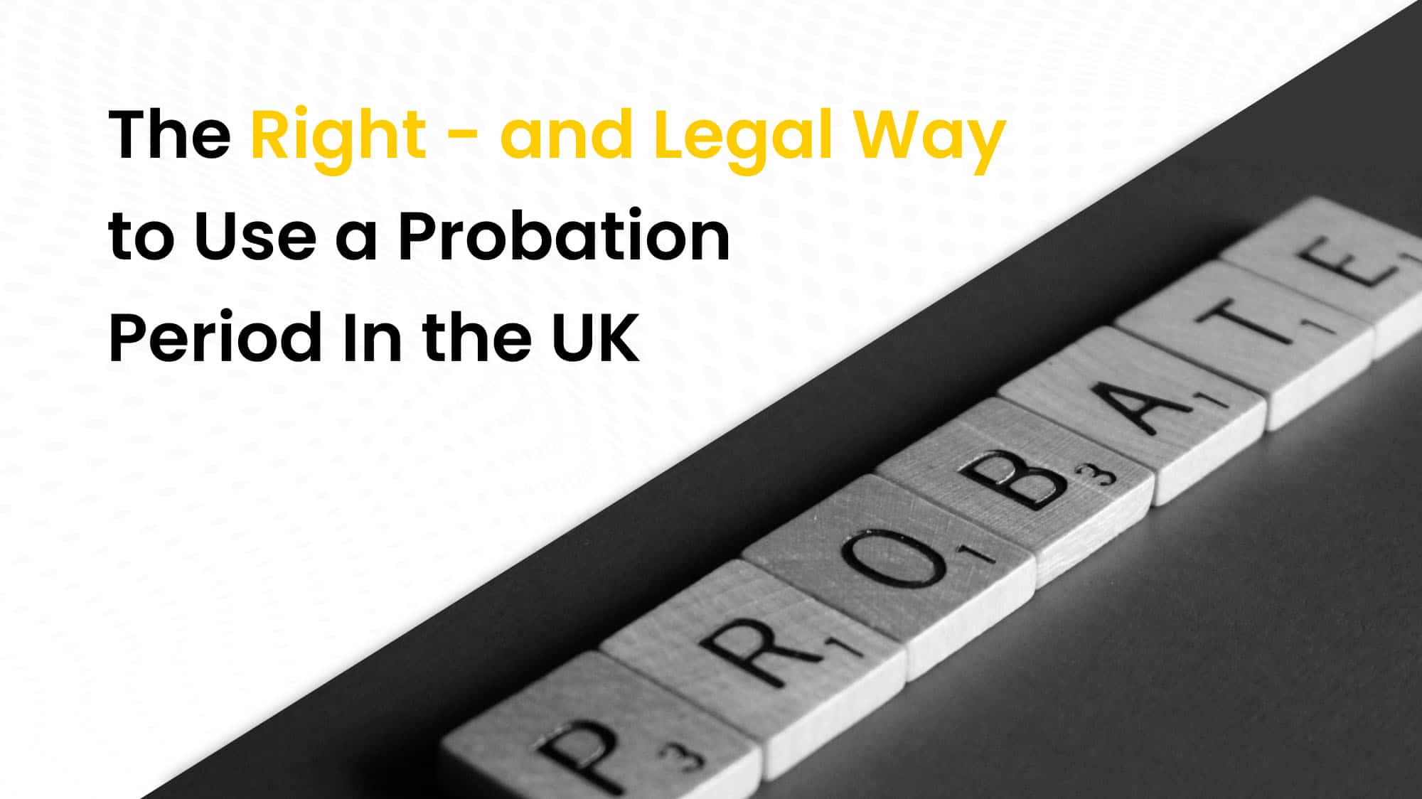 The right and legal way in UK