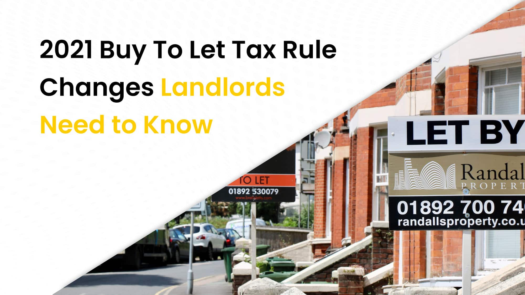 2021 buy to let tax rule chnages landlords need to know
